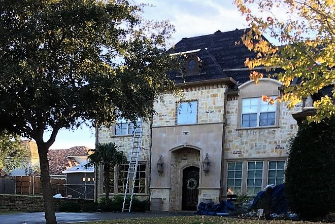 ron & debbie's house roofing roofers Texas